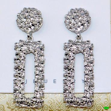 серьги (04-04) серебро 1шт.