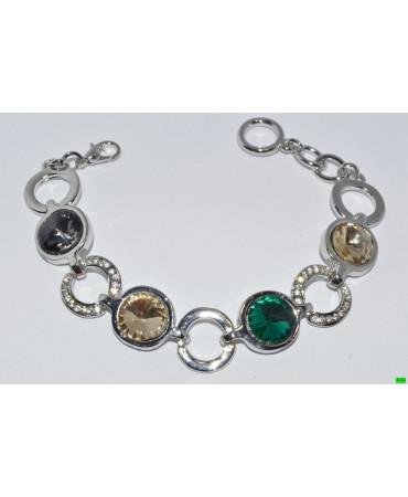браслет (01-82) серебро 1шт.