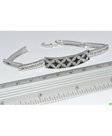 браслет (01-83) серебро 1шт.