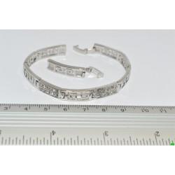 браслет (01-84) серебро 1шт.