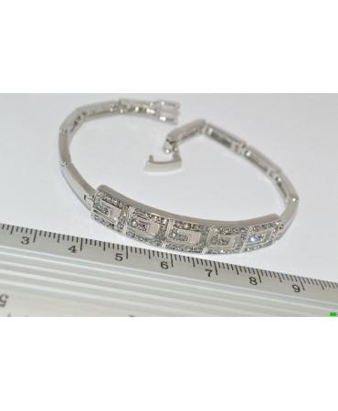 браслет (01-85) серебро 1шт.