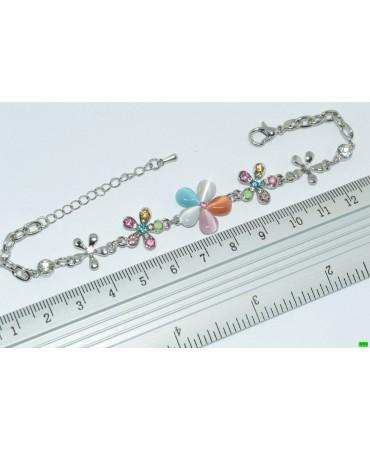 браслет (01-86) серебро 1шт.