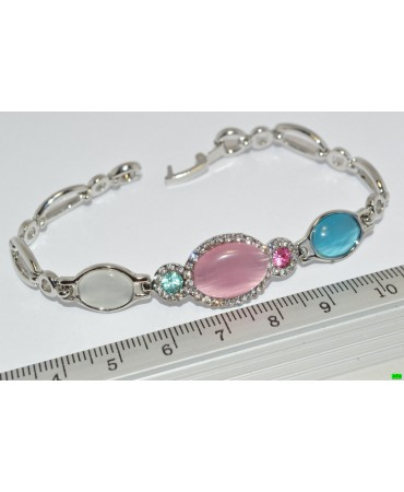 браслет (01-87) серебро 1шт.
