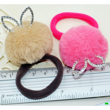 детская резинка (01-19) ушки 6шт.