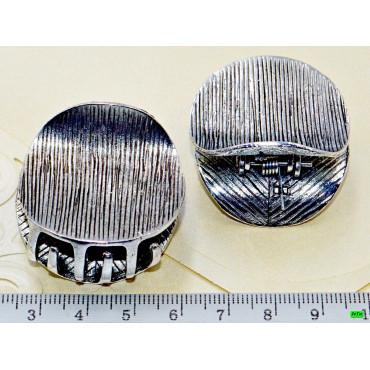 краб (02-53) серебро 2шт.