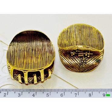 краб (02-53) золото 2шт.