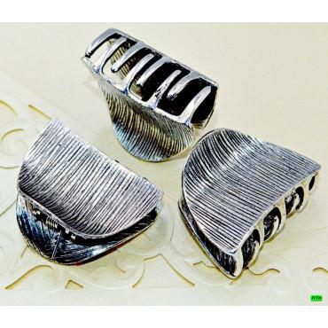 краб (02-54) серебро 2шт.