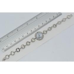 браслет (01-34) серебро 1шт.
