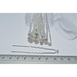 шпилька (01-12) белая 20шт.