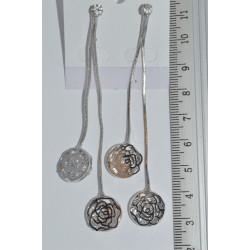 серьги (03-64) серебро 1шт.